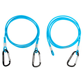 Swimrunners Hook-Cord Ceinture de traction 3m, blue